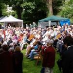 Ökumenischen Gottesdienst im Park von Haus Letmathe