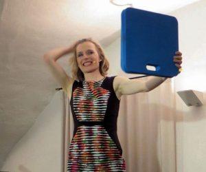 Mit Maria Vollmer zog Heiterkeit in den Gewölbekeller ein. Foto: Manuela Radigk