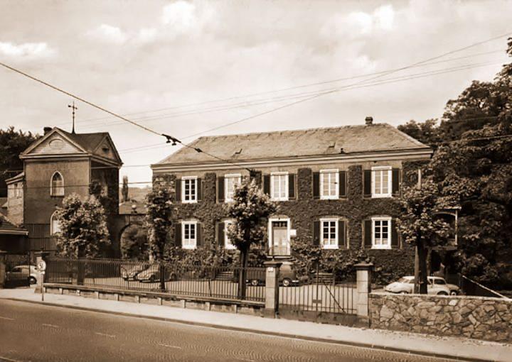 Haus Letmathe 1957 von der Hagener Straße