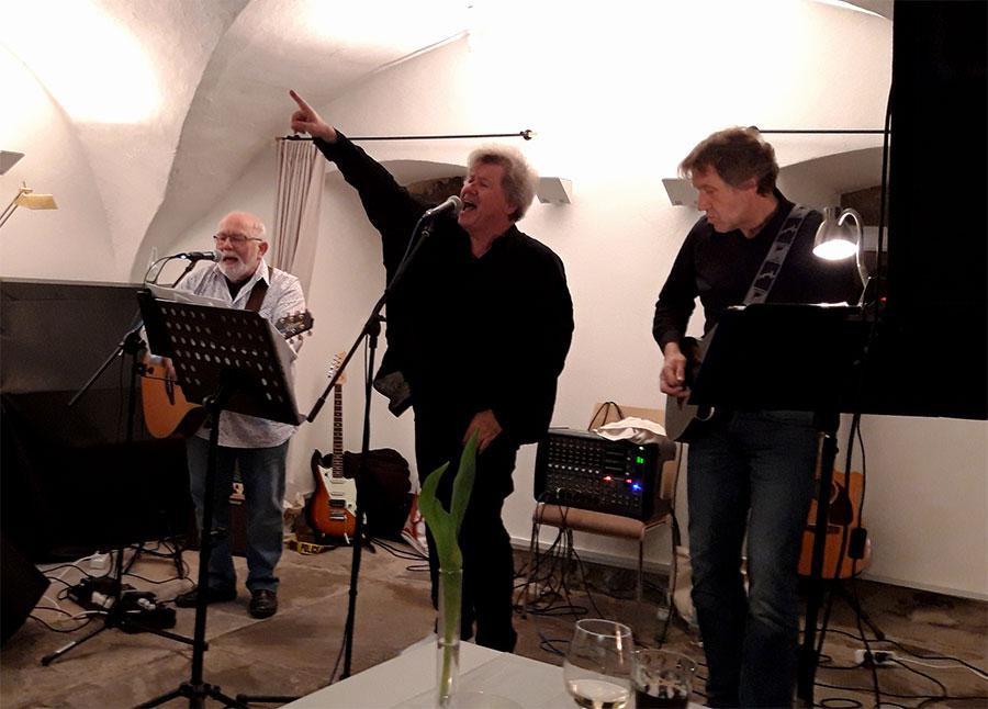 """Rock-Professor"" Dr. Alfred Endres gab den Ton an. Foto: Privat"